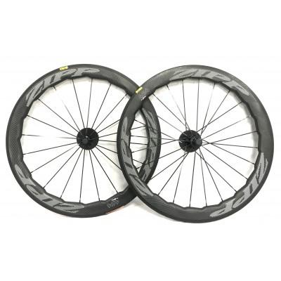 Clincher & Tubular Rims ZIPP 454 NSW  Wave Circle Carbon Road Bike Wheels-Carbon Road Bicycle Wheels