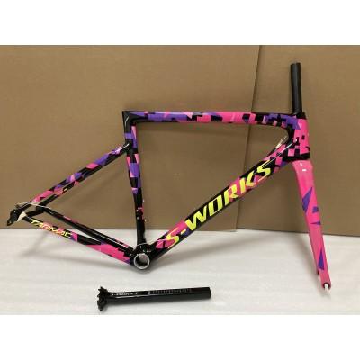 Carbon Fiber Road Bike Bicycle Frame SL6 specialized-S-Works SL6 V Brake & Disc Brake
