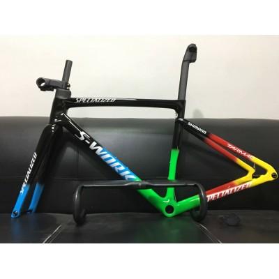 Carbon Fiber Road Bicycle Frame S-Works Tarmac SL7 Frameset Disc Brake-S-Works SL6 V Brake & Disc Brake