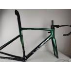 Carbon Fiber Road Bicycle Frame S-Works Tarmac SL7 Frameset Disc Brake Green