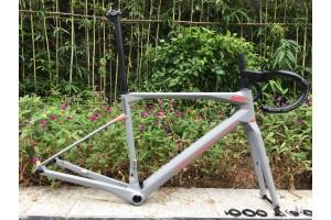 BMC Carbon Road Bike Frame Rim Brake & Disc Brake Grey