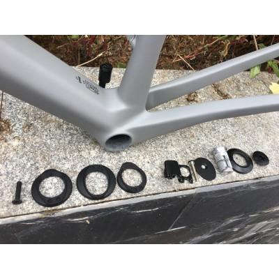 BMC Carbon Road Bike Frame Rim Brake & Disc Brake Grey-BMC  V-Brake & Disc Brake