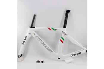 Carbon New Road Cipollini Bike Frame RB1K White