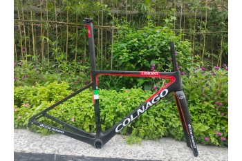 Colnago V3RS Carbon Frame Road Bicycle Red With Black