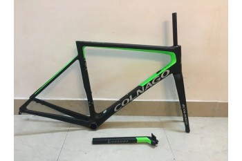 Colnago V3RS Carbon Frame Road Bicycle Green With Black