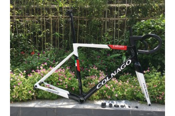 Colnago V3RS Carbon Frame Road Bicycle White With Black