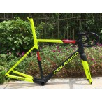 Colnago V3RS Carbon Frame Road Bicycle Yellow With Black