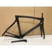 Pinarello Carbon Road Bike Bicycle Frame Dogma F8 No Decals 57.5cm BSA Matte