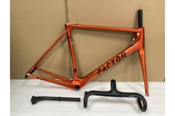 FACTOR O2 Carbon Road Bike Frame Orange