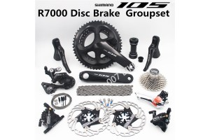 SHIMANO 105 R7000 Road Bicycle Oil Disc  Speed Groupset  A8000 Disc Brake Oil Brake