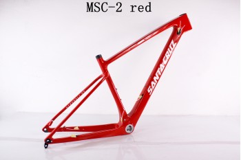 Mountain Bike Santa Cruz Carbon Bicycle Frame