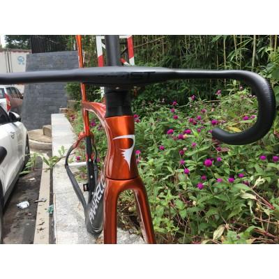 Pinarello DogMa F Disc Brake Carbon Road Bike Frame Red With Black-Dogma F  V-Brake