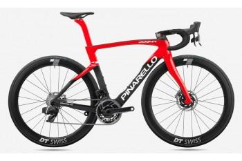 Pinarello DogMa F Disc Brake Carbon Road Bike Frame Red With Black