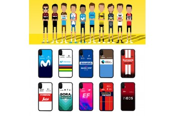 2019 Tour de France Mobile Phone Case Ineos Quick Step Bahrain Sun Net BORA Around Sagan