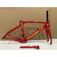 Pinarello DogMa F10 Carbon Road Bike Frame  46.5cm BSA V-Brake