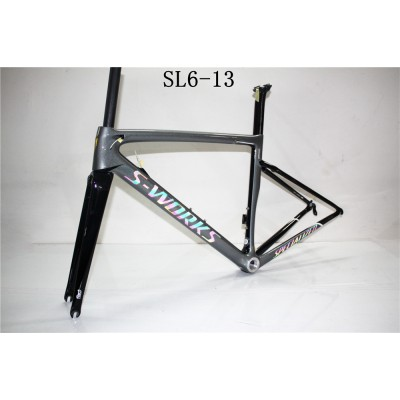 Carbon Fiber Road Bike Bicycle Frame SL6 specialized-S-Works SL6 V Brake & Disc Brake