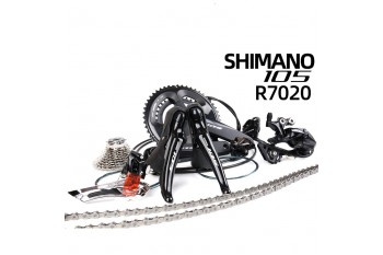 SHIMANO R7020 Road Bicycle Oil Disc  Speed Groupset Oil Brake 7020 Mechanical