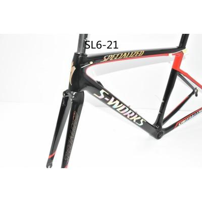 Carbon Fiber Road Bike Bicycle Frame SL6 specialized V Brake & Disc Brake-S-Works SL6 V Brake & Disc Brake
