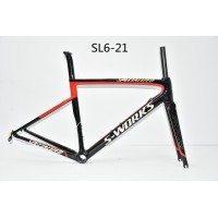 Carbon Fiber Road Bike Bicycle Frame SL6 specialized V Brake & Disc Brake