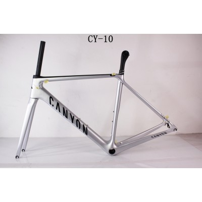 Carbon Fiber Road Bike Bicycle Frame Canyon-Canyon V Brake & Disc Brake