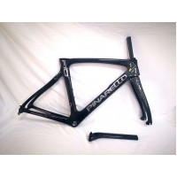 Pinarello DogMa F10 Carbon Road Bike Frame Black Gloss 1K 53cm BSA