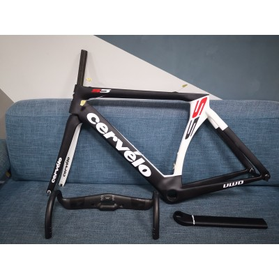 Cevelo S5 Carbon Road Bike Bicycle Frame White-Cervelo Frame