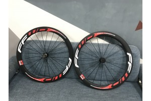 Clincher & Tubular Rims Carbon Road Bike Wheels Multicolor