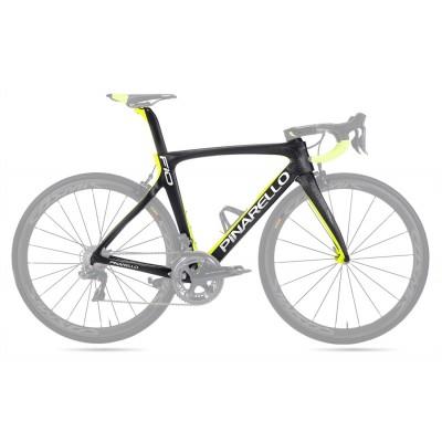 Pinarello DogMa F10 Carbon Road Bike Frame 168 Sulfur Yellow-Dogma F10 V Brake & Disc Brake