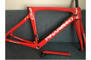 Pinarello DogMa F10 Carbon Road Bike Frame 166 Red