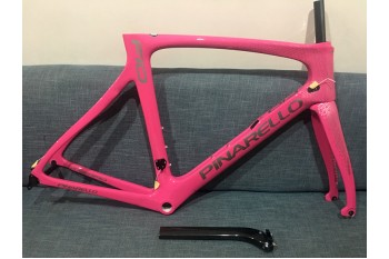 Pinarello DogMa F10 Carbon Road Bike Frame Pink