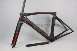 Ridley Carbon Road Bicycle Frame NOAH SL Red 54cm