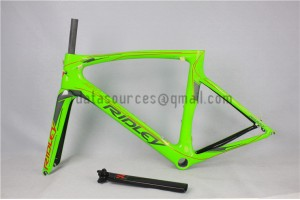 Ridley Carbon Road Bicycle Frame R1 Green