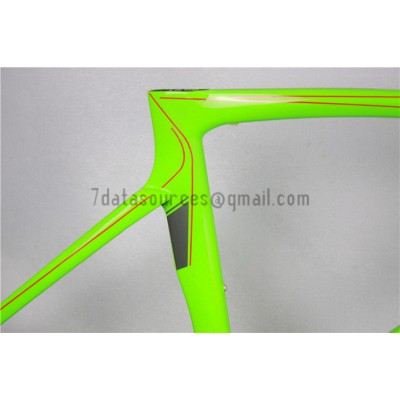 Ridley Carbon Road Bicycle Frame R1 Green-Ridley Road