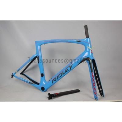 Ridley Carbon Road Bicycle Frame R1 Sky Blue-Ridley Road