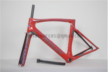 Ridley Carbon Road Bicycle Frame R2 Red
