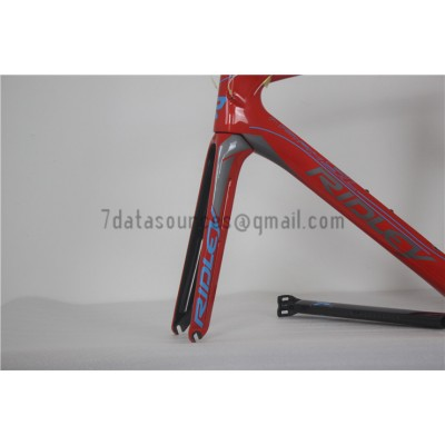 Ridley Carbon Road Bicycle Frame R2 Red-Ridley Road