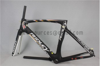 Ridley Carbon Road Bicycle Frame R6 Black