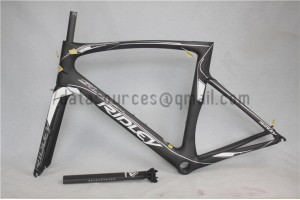 Ridley Carbon Road Bicycle Frame R9 Black