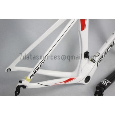 Ridley Carbon Road Bicycle Frame NOAH SL White-Ridley Road