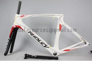 Ridley Carbon Road Bicycle Frame NOAH SL White