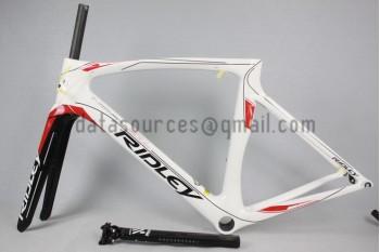 Ridley Carbon Road Bicycle Frame NOAH SL White