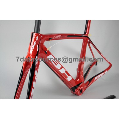 BH G6 Carbon Road Bike Bicycle Frame Red-BH G6 Frame