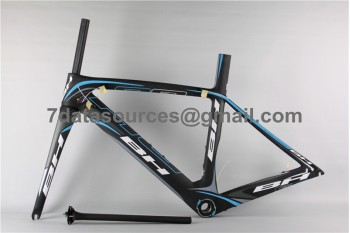 BH G6 Carbon Road Bike Bicycle Frame Blue