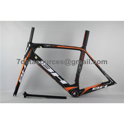 BH G6 Carbon Road Bike Bicycle Frame Orange-BH G6 Frame