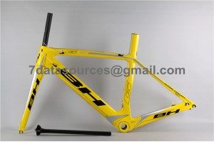 BH G6 Carbon Road Bike Bicycle Frame Yellow