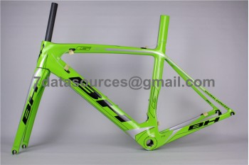 BH G6 Carbon Road Bike Bicycle Frame Green