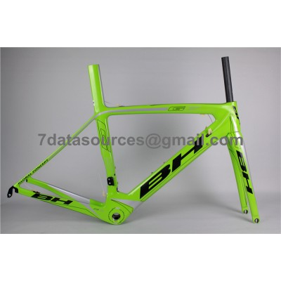 BH G6 Carbon Road Bike Bicycle Frame Green-BH G6 Frame