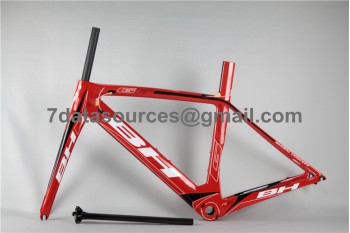 BH G6 Carbon Road Bike Bicycle Frame Red
