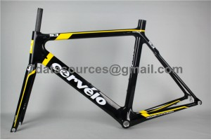 Cevelo S3 Carbon Road Bike Bicycle Frame Yellow