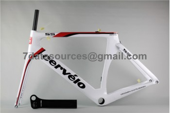 Cevelo S5 Carbon Road Bike Bicycle Frame Shining